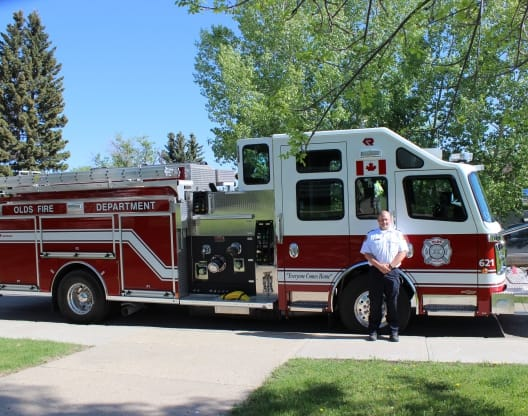 Town of Olds 2018 Fire Truck