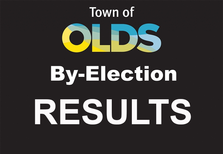 Town of Olds by-election results