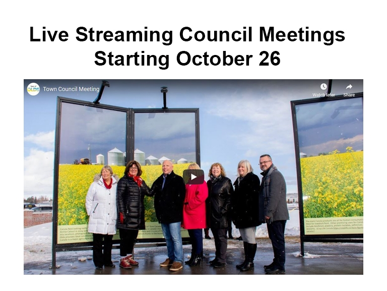 streaming council meetings